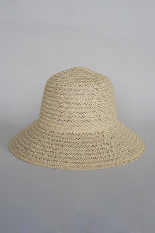 So Shady Woven Ivory Hat
