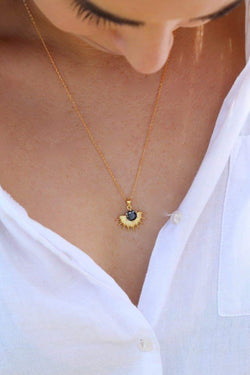 Solace Gold Necklace