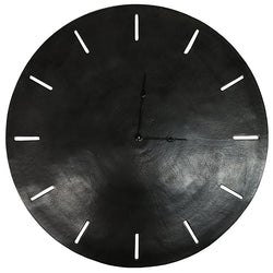 Songo Black Round Clock 73cm