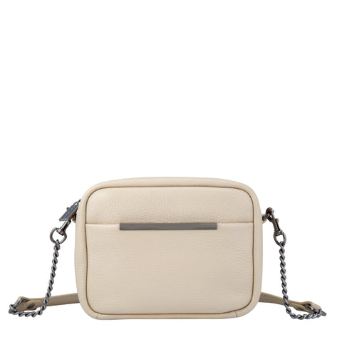 Cult Crossbody with Chain Nude Bag
