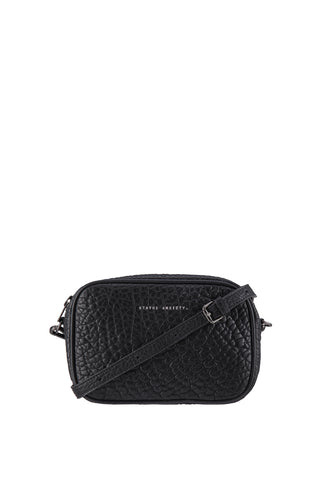 Plunder Black Bubble Cross Body Bag