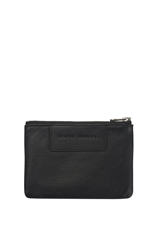Anarchy Italian Leather Black Purse