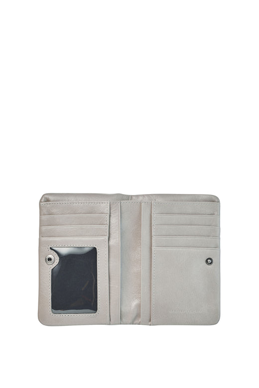 Is Now Better Light Grey Wallet
