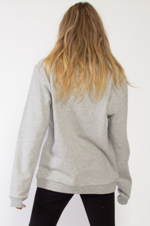 Through Hopeful Heart LS Grey Fleece