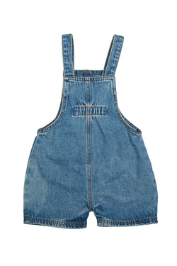 Kids Unending Denim Blue Overalls