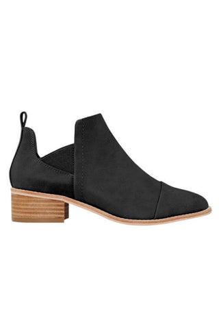 Hayden Cut Away Side Black Boot