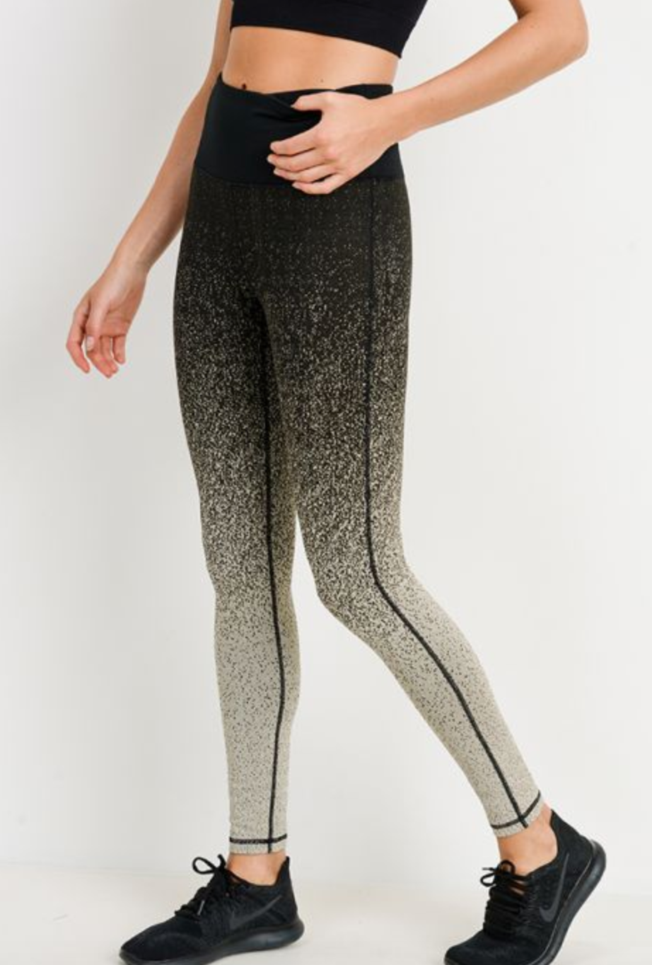 Ombre Printed Hightwaisted Leggings