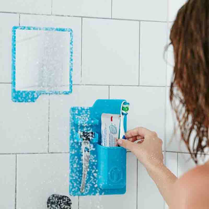 A SILICON SHOWER ORGANIZER
