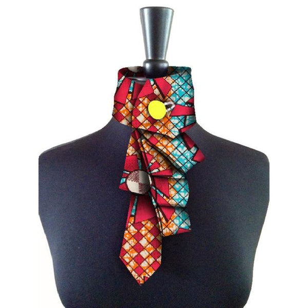 2008 African New False Collar For Women and Bowknot Colorful Detachable Q11786