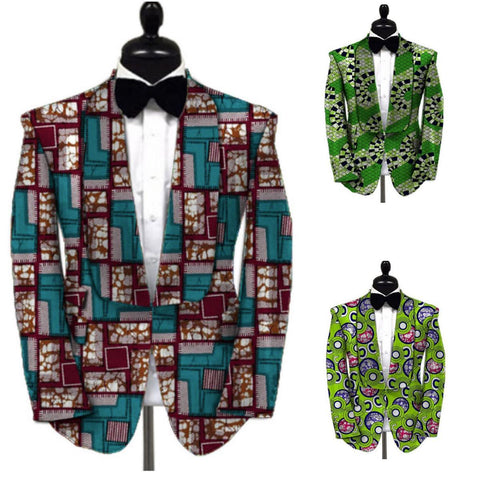 Kitenge Custom Made African Men'S Ankara  Y10536