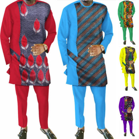Natural Mens African Clothing Plus Dashiki M Y10848