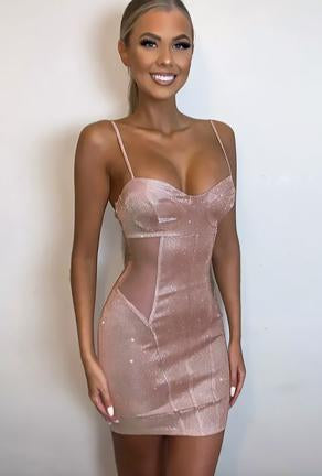 SUZI - SPARKLING BODICE DRESS