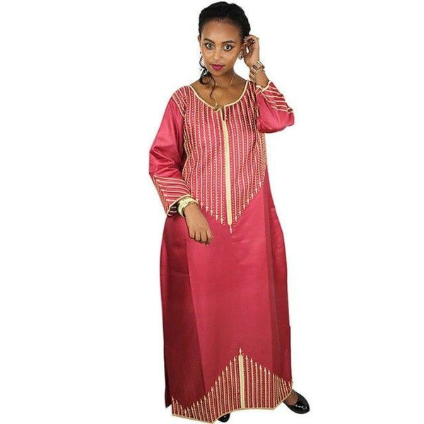 African Clothing For Women Dashiki Bazin Riche Traditional Long  X21166