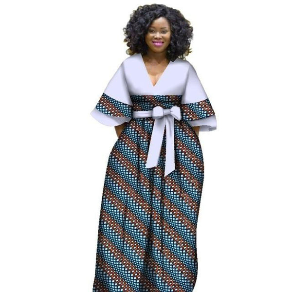 African batik long dresses for X11372