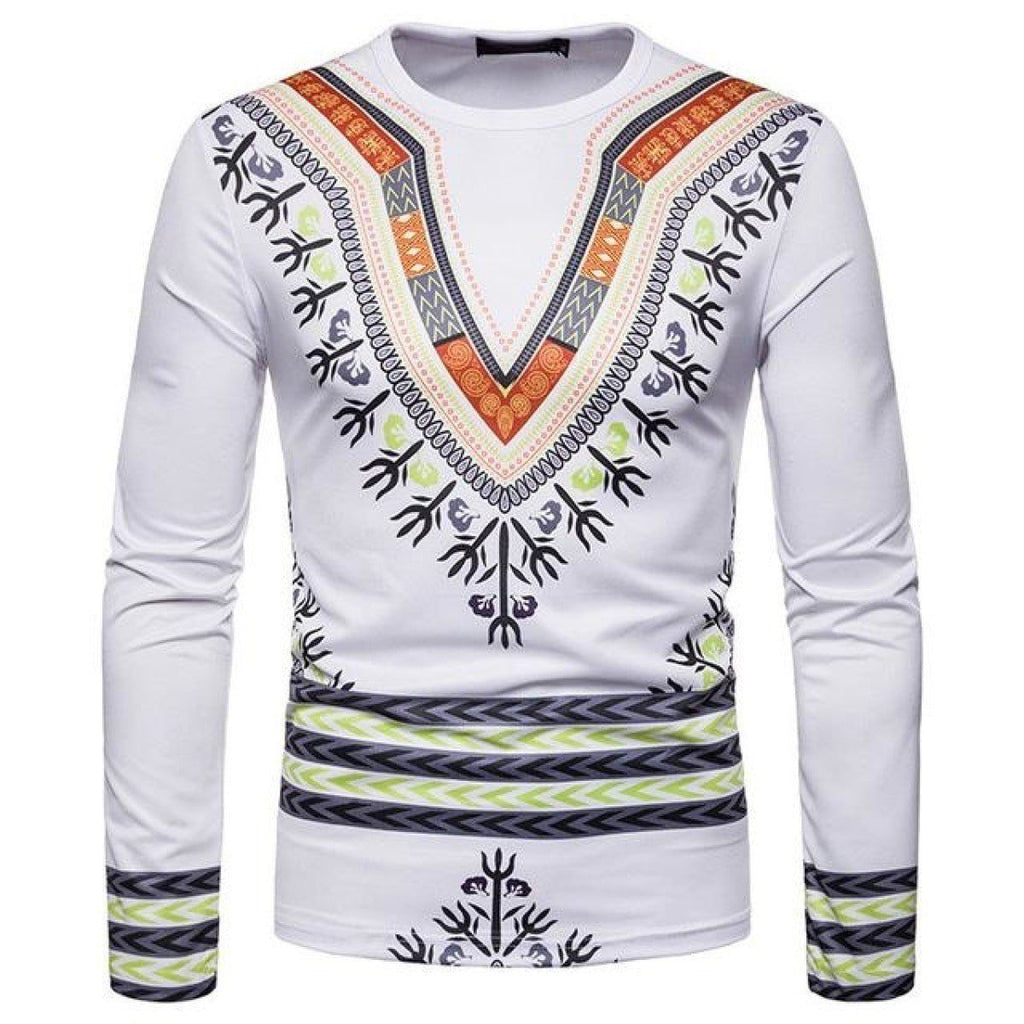 3D Printed Africa Clothing Men Dashiki Hip Hop Casual Dresses T-Shirt Y10544