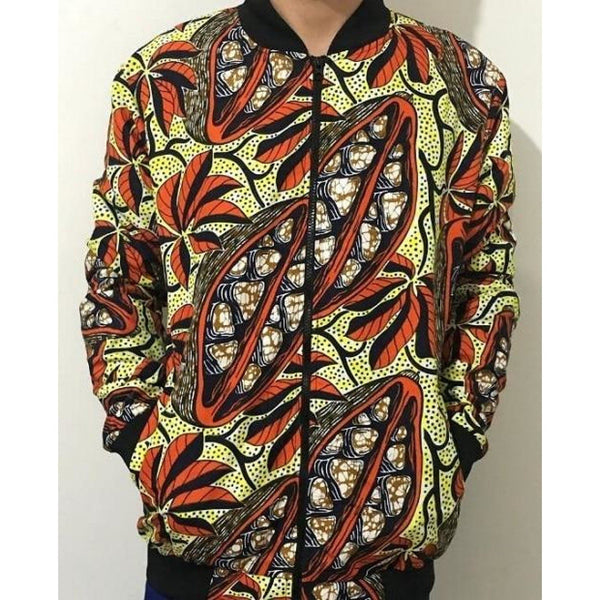 African Print Dashiki jacket Outwear for women Y10511