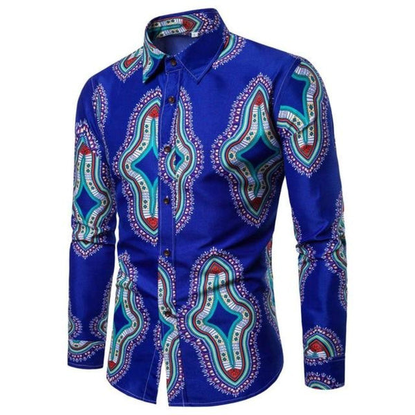 Women/Men African Unisex 3D Printed Casual Hip Hop Fitness Dress-Shirt Y10550