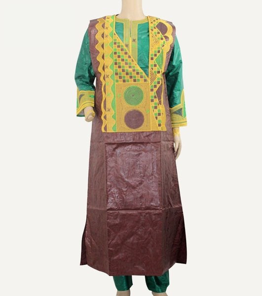Embroidered African Clothing For Men 3-Piece Y20788