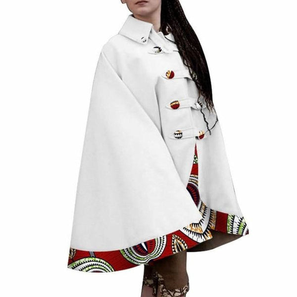 Dashiki Africa Clothing Trench coat Outwear for Women X10412