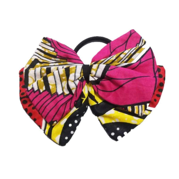 Fashion Girl'S Hair Accessories Cute Bowknot Elastic Hair Bands Princess Q11783