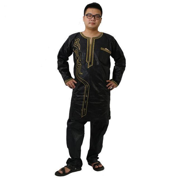 South Africa Dashiki Men African Mens Dashiki Clothing Bazin Riche Y20772