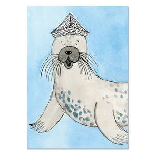 EM Card - Tricks the Seal