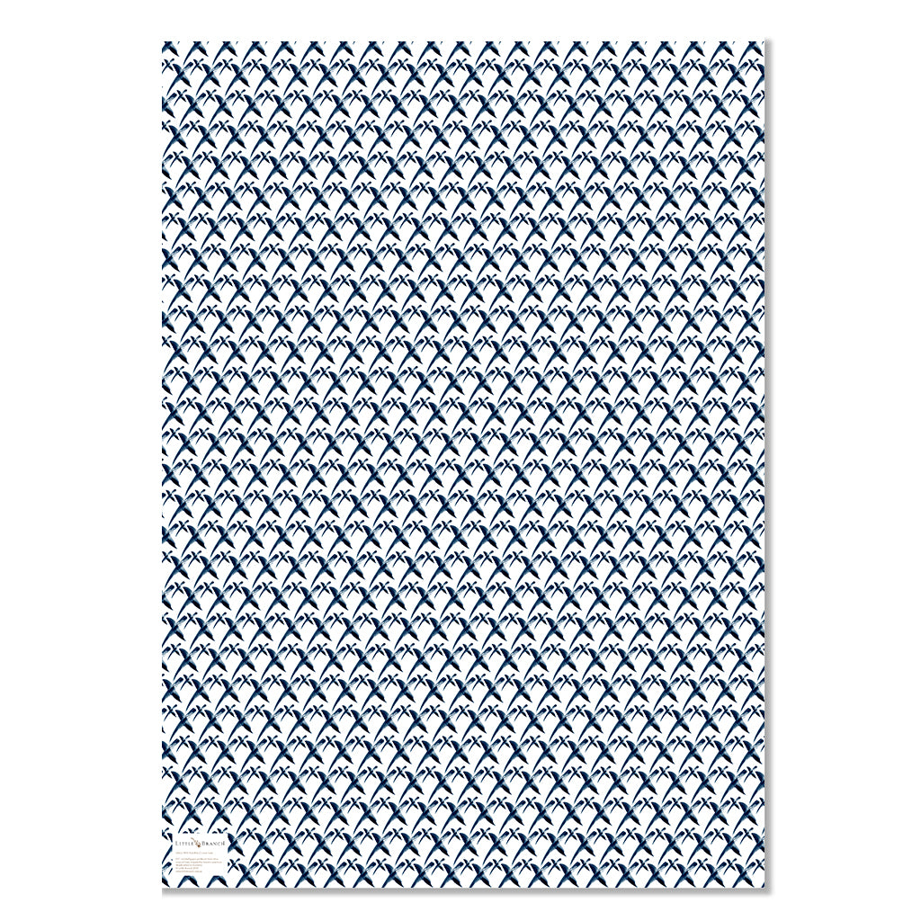 Louie Luxe Wrapping Paper - Kiss, Kiss