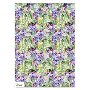 Wrapping Paper - Lacy Hydrangea