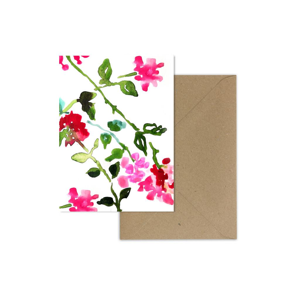 Card - Scattered Floral