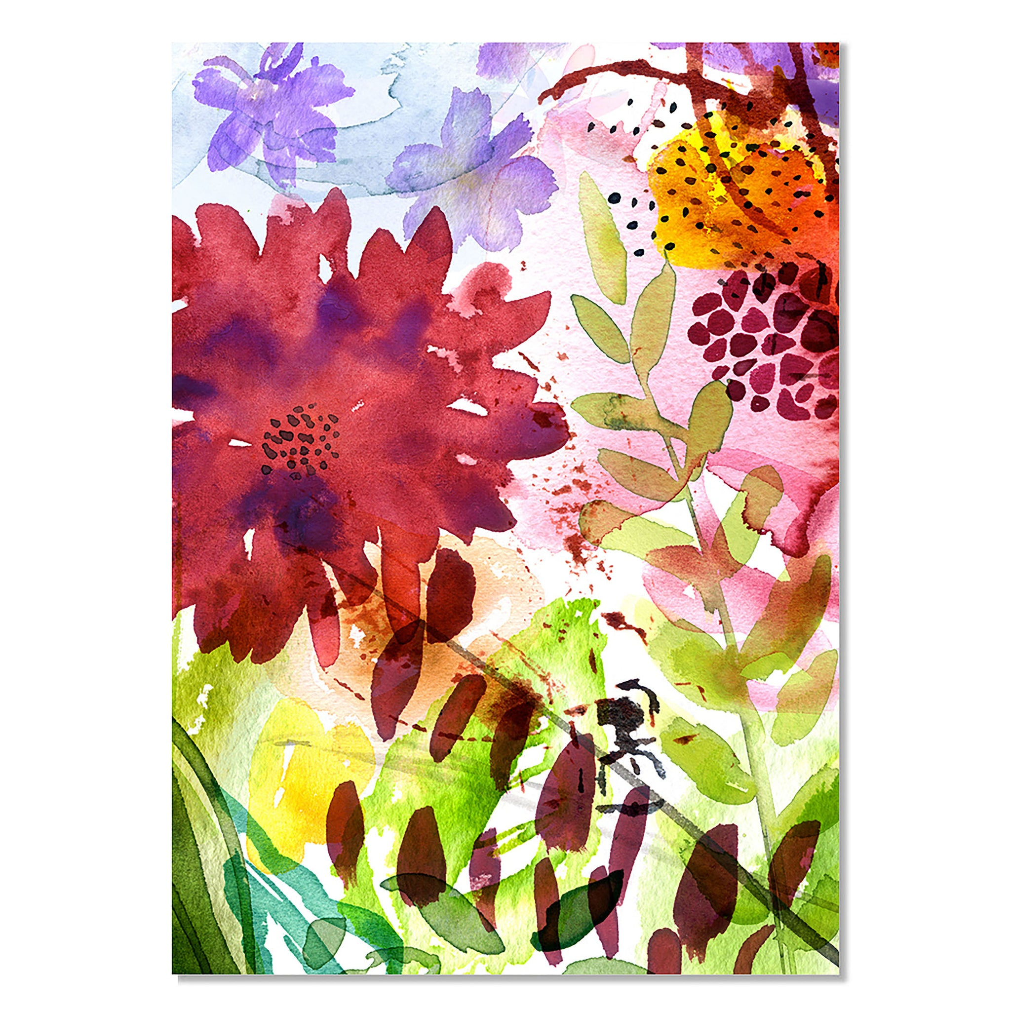 Card - The Flower Garden 1