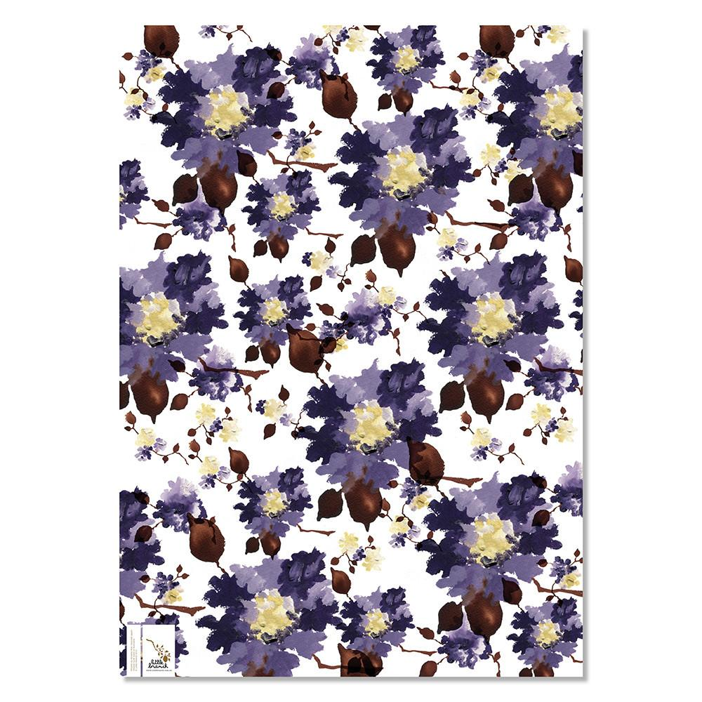 Wrapping Paper - Violet