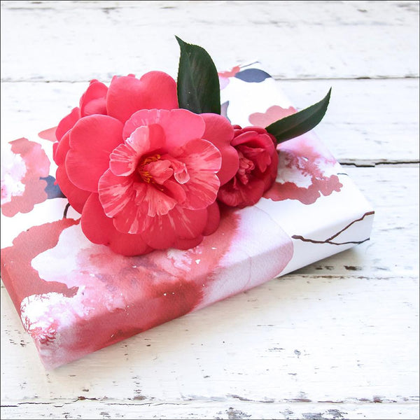 Wrapping Paper - Rose Stem