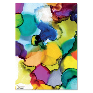 Wrapping Paper - Rainbow Puddles