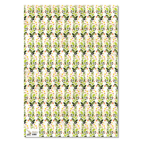 Wrapping Paper - Love Garden