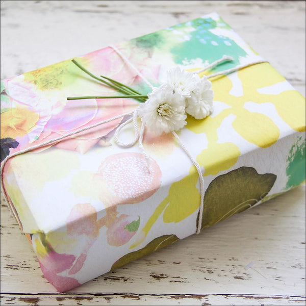 Wrapping Paper - Sunbleached Petals