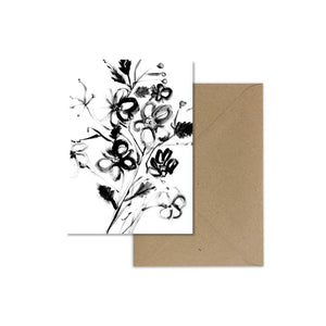 EP Card - Ink Florals