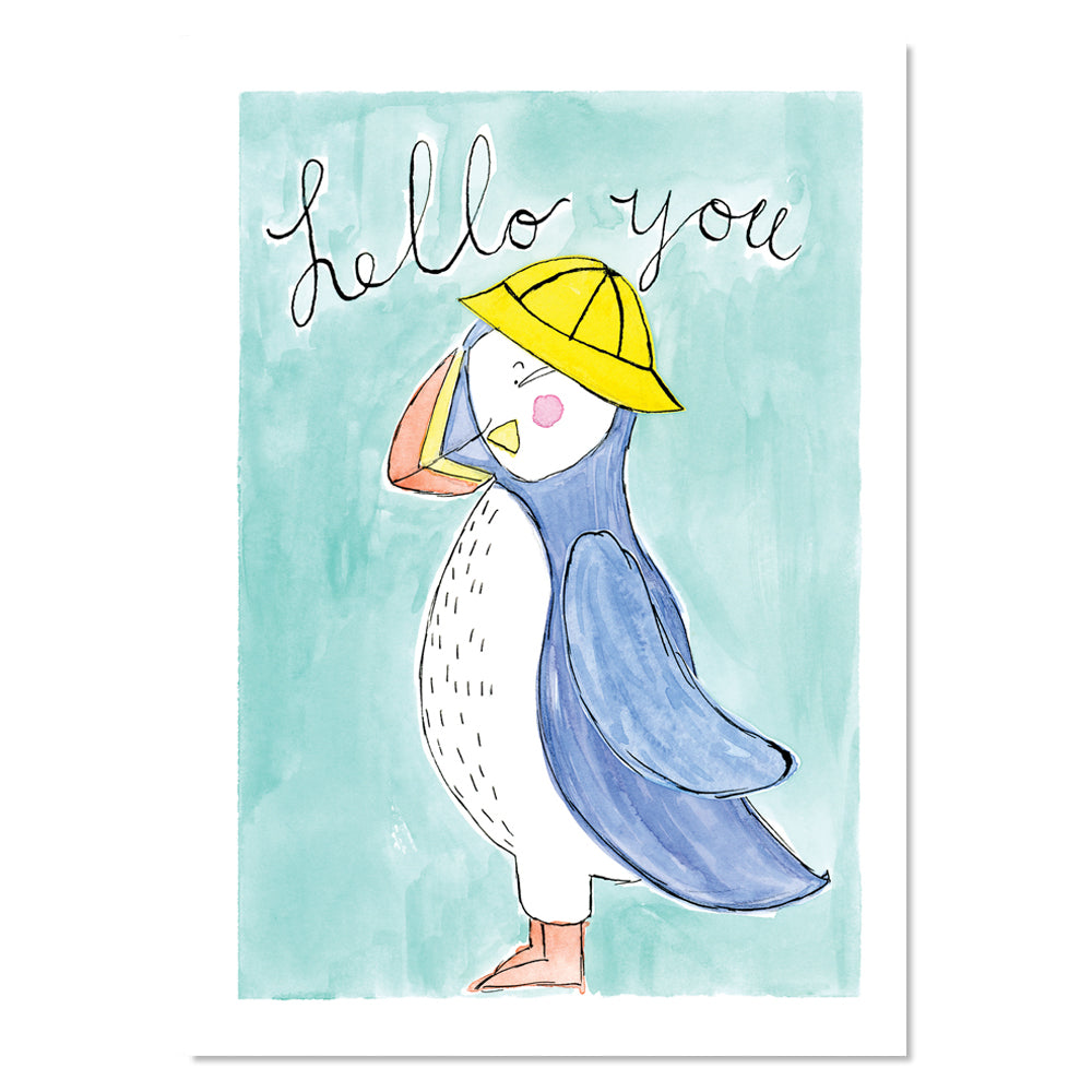 EM Art Print - Whoopi the Puffin