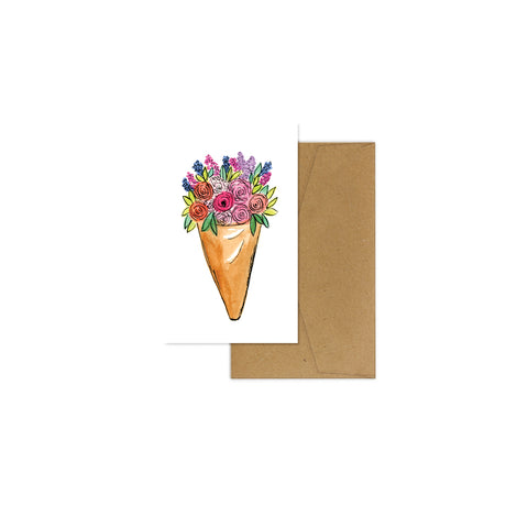 EM Mini Card - Mixed Posy