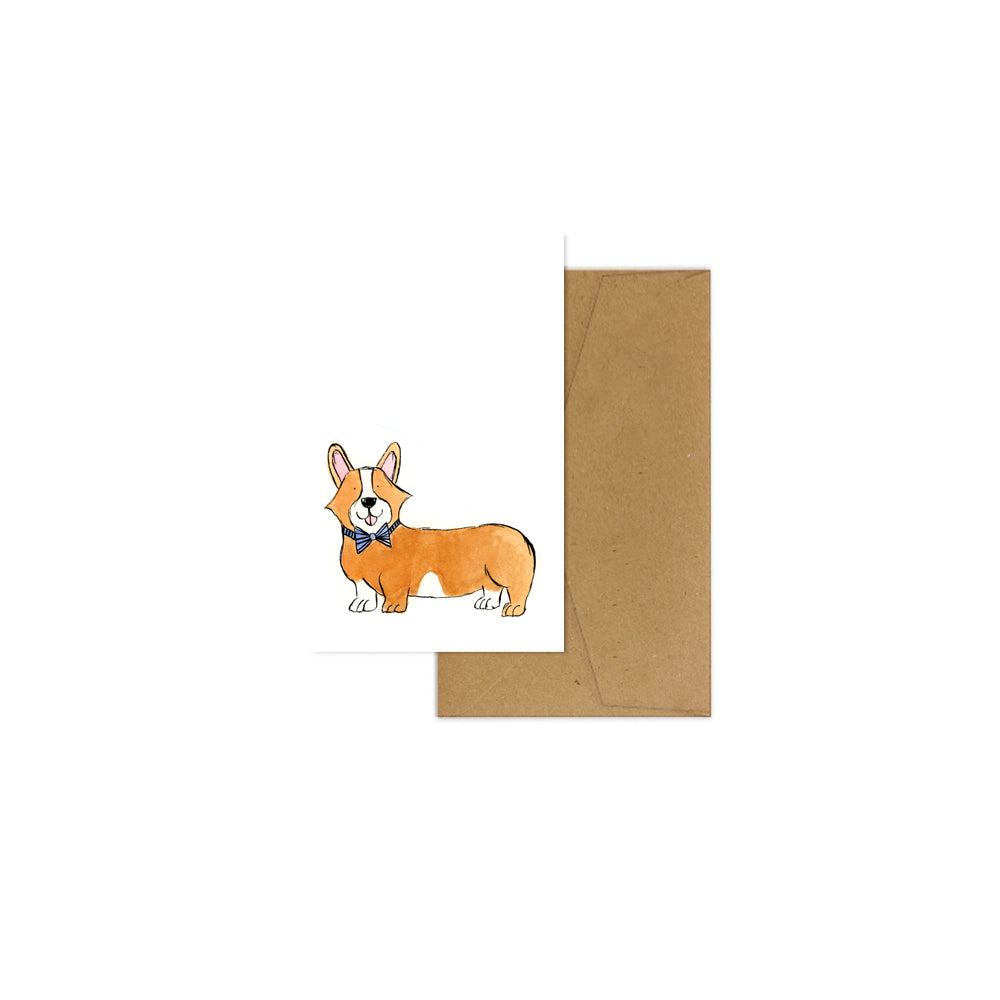 EM Mini Card - Crumpet the Corgi