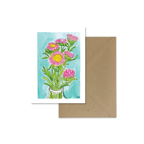 EM Card - Blooming Wildflowers