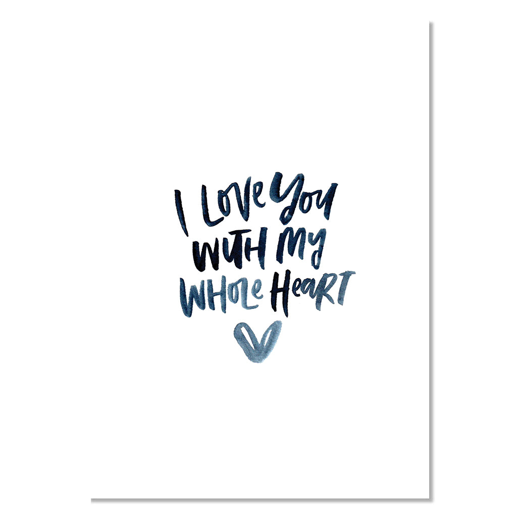 Louie Luxe Card - Whole Heart