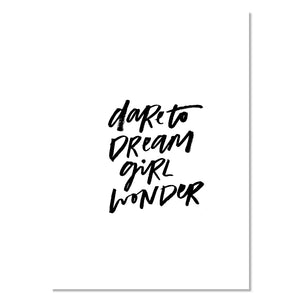 Louie Luxe Card - Dare to Dream