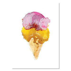 Art Print - Ice Cream (unframed)