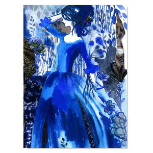 Art Print - Indigo Mistress Mine (unframed)
