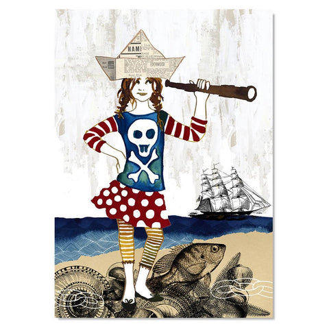 Art Print - Pirate Anna (unframed)