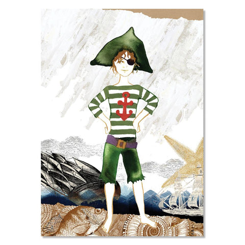 Poster Print - Pirate Marcello