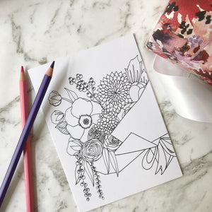 Elise Maree Colour Me Card Pack