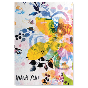 Card - Floral Thank You