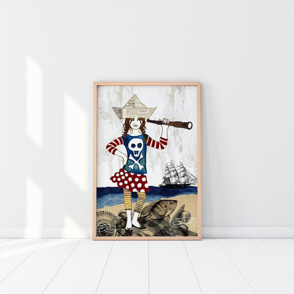 Poster Print - Pirate Anna