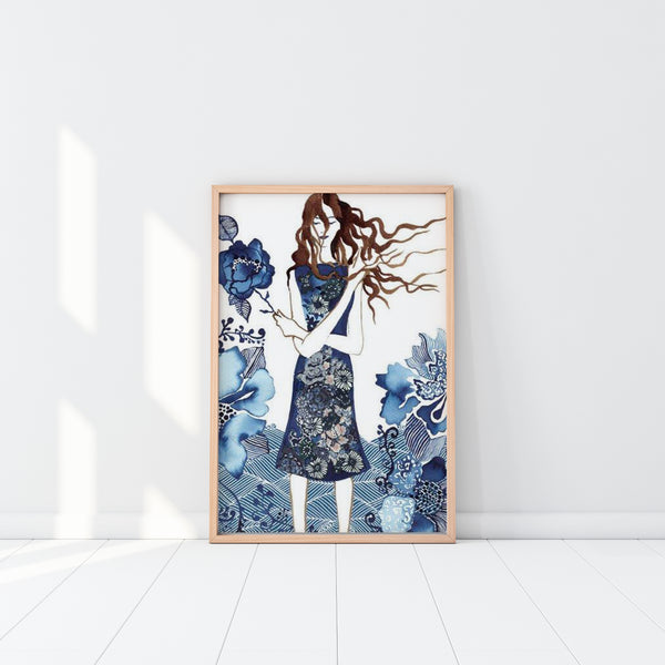 Art Print - Rainy Day Woman (unframed)
